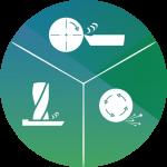 Komponentenfertigung: Fräsen, Drehen, Schleifen Icon