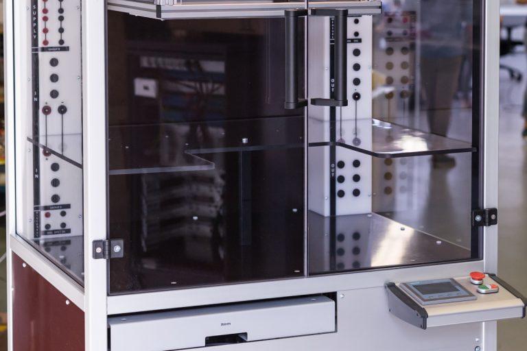 Hochvolt (HV) Prüfstand - Prüfung von Leistungselektronik wie bspw. Wechselrichter