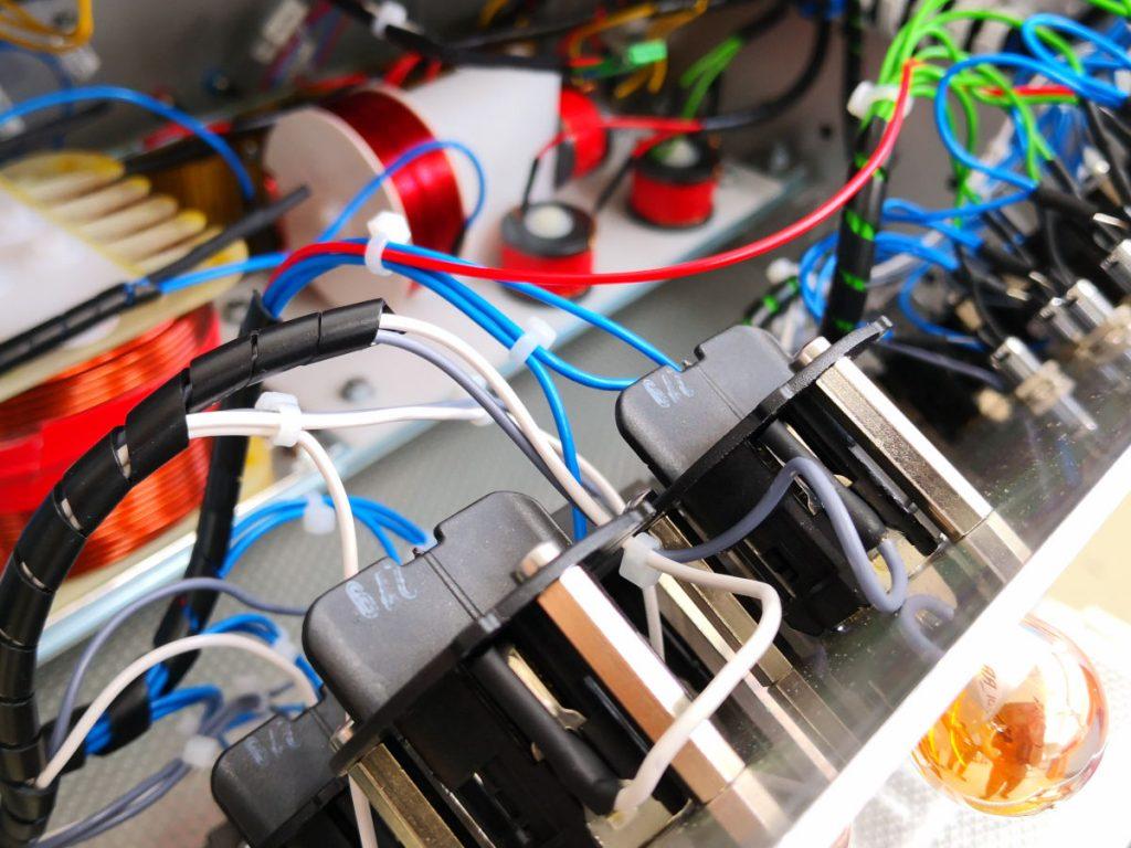 Loadbox Verkabelung der Lampen Außenbeleuchtung