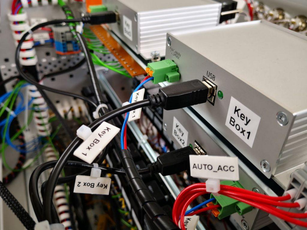 Loadbox Keybox Verkabelung