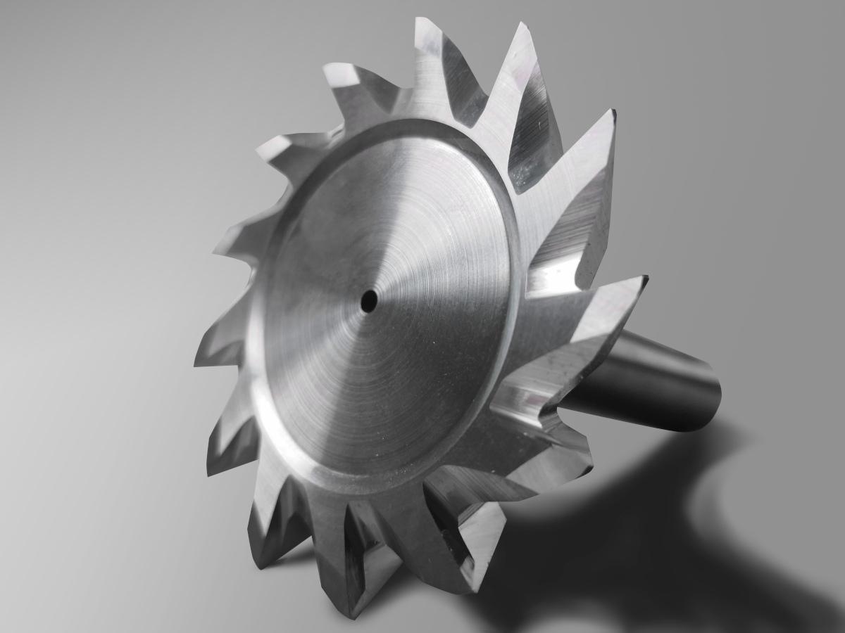Formfräser aus Vollhartmetall zum Fräsen von Radien und Schrägen in einem Durchgang